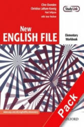 New English File: Elementary: Workbook with MultiROM Pack - Clive Oxenden, Christina Latham-Koenig, Paul Seligson, Jane Hudson (2005)