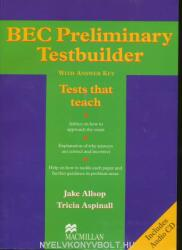 BEC Preliminary Testbuilder + Audio CD (2007)