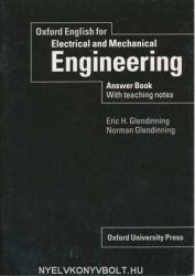 Oxford English for Electrical and Mechanical Engineering: Answer Book with Teaching Notes - Eric Glendinning, Norman Glendinning (2007)