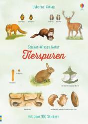 Sticker-Wissen Natur: Tierspuren (ISBN: 9781782328681)