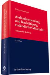Auslandsentsendung und Beschftigung auslndischer Mitarbeiter (ISBN: 9783472089919)
