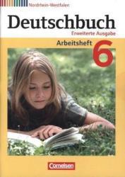 Deutschbuch 6. Schuljahr. Arbeitsheft mit Lsungen. Nordrhein-Westfalen (ISBN: 9783060629695)