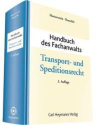 Handbuch des Fachanwalts Transport- und Speditionsrecht (ISBN: 9783452281425)