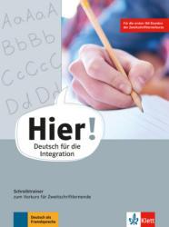 Hier! Vorkurs. Schreibtrainer zum Vorkurs fr Zweitschriftlernende (ISBN: 9783126767002)