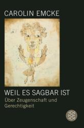 Weil es sagbar ist (ISBN: 9783596196852)