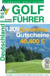 Albrecht Golf Fhrer Deutschland 19/20 inklusive Gutscheinbuch (2018)