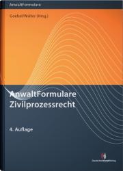 AnwaltFormulare Zivilprozessrecht (2018)