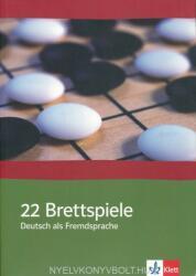22 Brettspiele. Deutsch als Fremdsprache (2008)