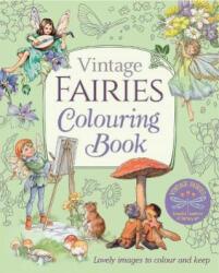 Vintage Fairies Colouring Book (ISBN: 9781788887755)