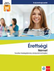 Érettségi Német - Tematikus feladatgyűjtemény a középszintű érettségihez (2019)
