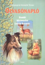 OLVASÓNAPLÓ BAMBI, MICIMACKÓ, LASSIE (2007)