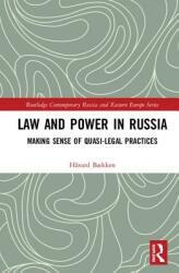 Law and Power in Russia - Havard Baekken (ISBN: 9781138570887)