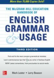 McGraw-Hill Education Handbook of English Grammar & Usage (ISBN: 9781260121674)