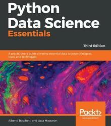 Python Data Science Essentials (ISBN: 9781789537864)