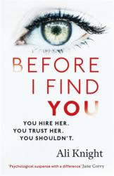 Before I Find You (ISBN: 9781473684799)