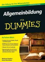 Allgemeinbildung fur Dummies - Winfried Göpfert, Horst Herrmann (2012)