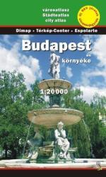 Budapest és környéke atlasz / Dimap (2009)
