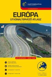 Európa útvonaltervező atlasz (2010)