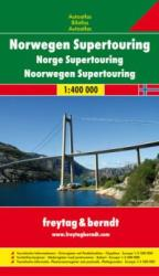 Norvégia Supertouring atlasz / freytag & berndt (2005)