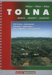 Tolna megye atlasz HiSzi Map (2009)