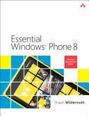 Essential Windows Phone 8 (ISBN: 9780321904942)