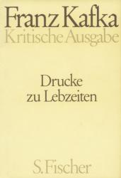 Drucke zu Lebzeiten. Kritische Ausgabe (1994)