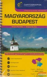 Magyarország + Budapest kombi atlasz (2008)