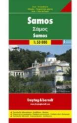 Szamosz térkép / Samos / freytag & berndt (2008)