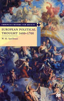 European Political Thought, 1600-1700 (ISBN: 9780333676042)