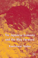 Japanese Economy and the Way Forward (ISBN: 9781403947789)