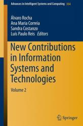 New Contributions in Information Systems and Technologies: Volume 2 (ISBN: 9783319165271)