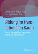 Bildung in transnationalen Raumen (ISBN: 9783658096410)