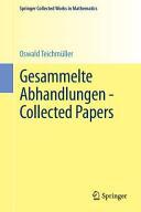 Gesammelte Abhandlungen - Collected Papers (ISBN: 9783662470091)