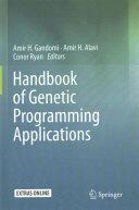 Handbook of Genetic Programming Applications (ISBN: 9783319208824)