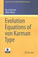 Evolution Equations of Von Karman Type (ISBN: 9783319209968)