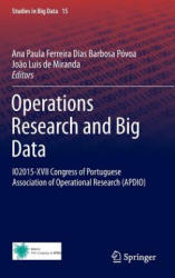 Operations Research and Big Data (ISBN: 9783319241524)