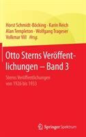 Otto Sterns Veroffentlichungen - Band 3 - Sterns Veroffentlichungen von 1926 bis 1933 (ISBN: 9783662469590)