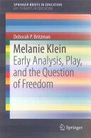 Melanie Klein - Deborah P. Britzman (ISBN: 9783319260839)