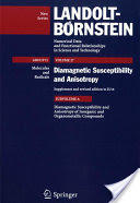 Diamagnetic Susceptibility and Anisotropy of Inorganic and Organometallic Compounds (ISBN: 9783540231134)