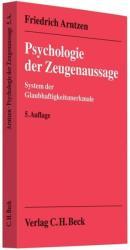 Psychologie der Zeugenaussage (2011)