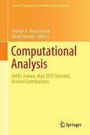 Computational Analysis - Selected Contributions from AMAT, Ankara, May 2015 (ISBN: 9783319284415)