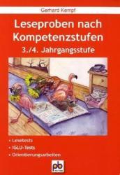 Leseproben nach Kompetenzstufen (2010)