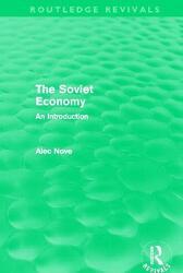 Soviet Economy (ISBN: 9780415684941)