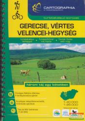 Gerecse / Vértes / Velencei-Hegység turistakalauz (2008)