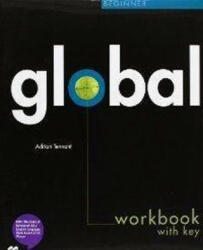 Global Beginner Workbook with Answer Key & Audio CD - Adrian Tennant (2011)