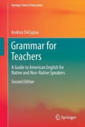 Grammar for Teachers (ISBN: 9783319339146)
