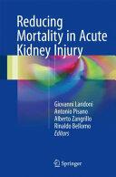 Reducing Mortality in Acute Kidney Injury (ISBN: 9783319334271)