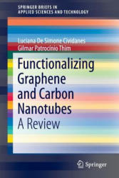 Functionalizing Graphene and Carbon Nanotubes - A Review (ISBN: 9783319351094)