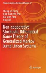 Non-Cooperative Stochastic Differential Game Theory of Generalized Markov Jump Linear Systems (ISBN: 9783319405865)