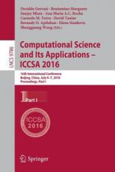 Computational Science and its Applications - ICCSA (ISBN: 9783319420844)